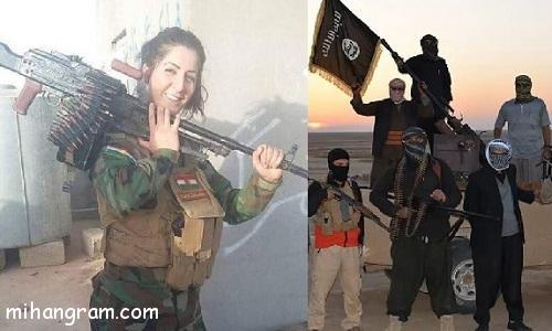 جایزه داعش برای کشتن دختر زیبای ایرانی تبار